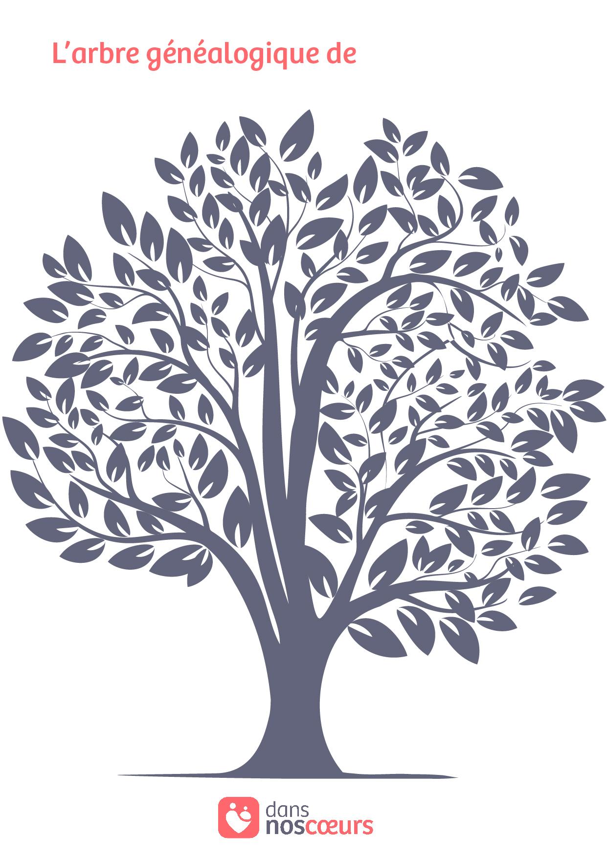 Tutoriel Pour Confectionner Votre Arbre Genealogique Dans Nos Coeurs